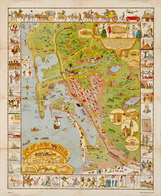 Current Exhibition La Jolla Map Museum